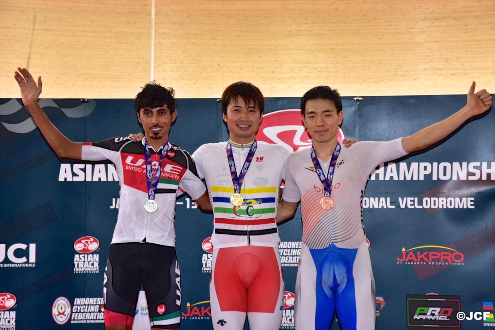 【トラック2019アジア選手権】オムニアムを橋本が優勝、アジア選手権2連覇3勝目