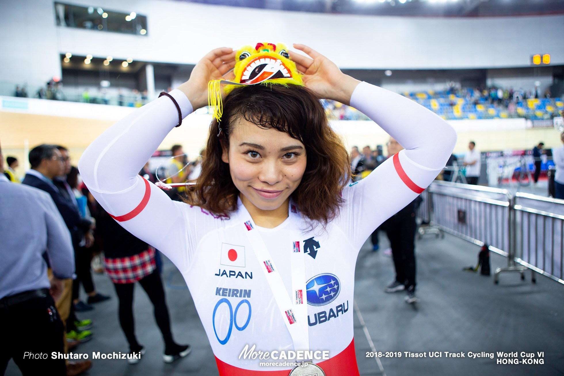 2018-19 トラックW杯】香港 女子競輪にて太田2位、銀メダル獲得
