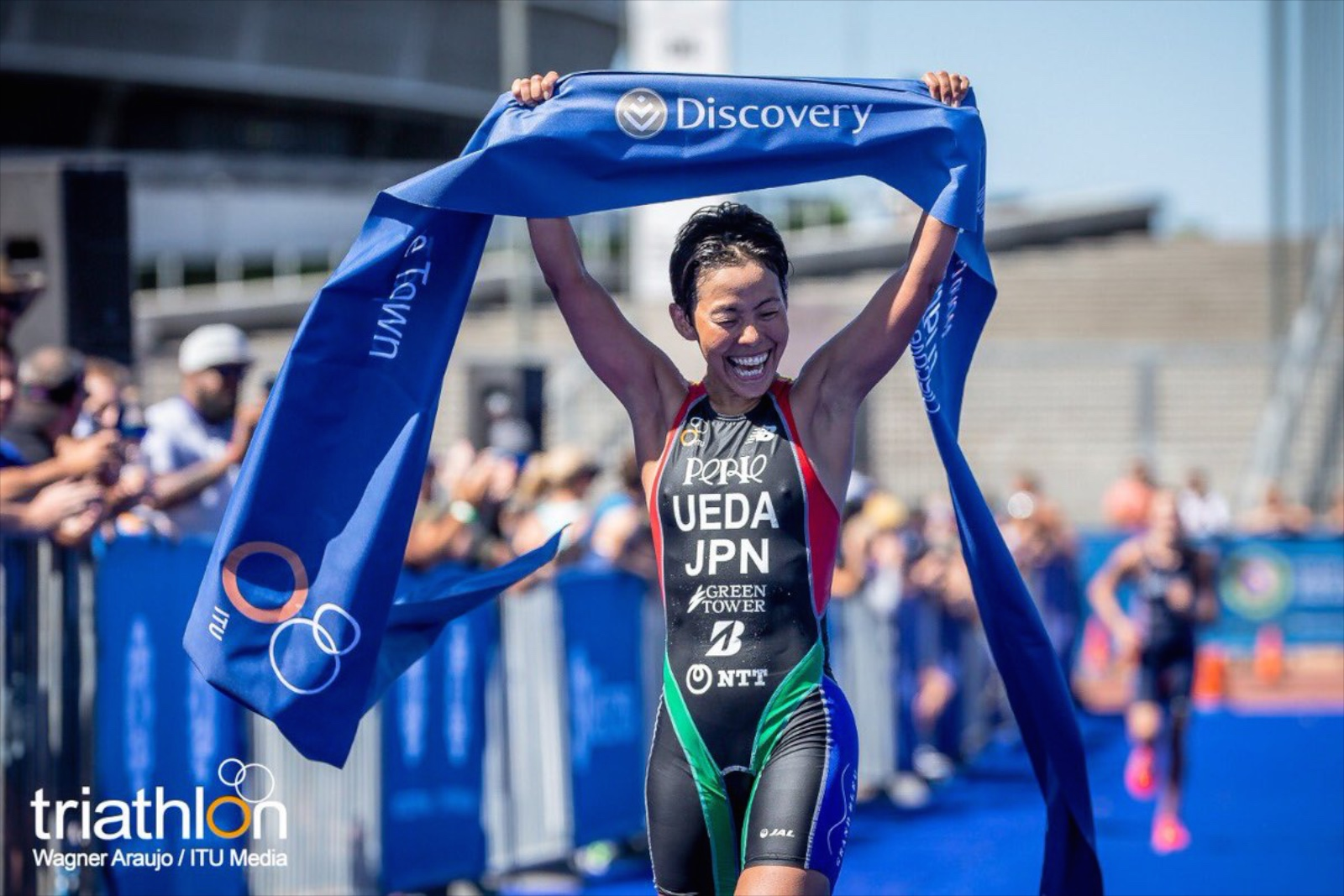 【ITU W杯】初戦ケープタウン/上田藍選手、2019シーズンの開幕戦に勝利