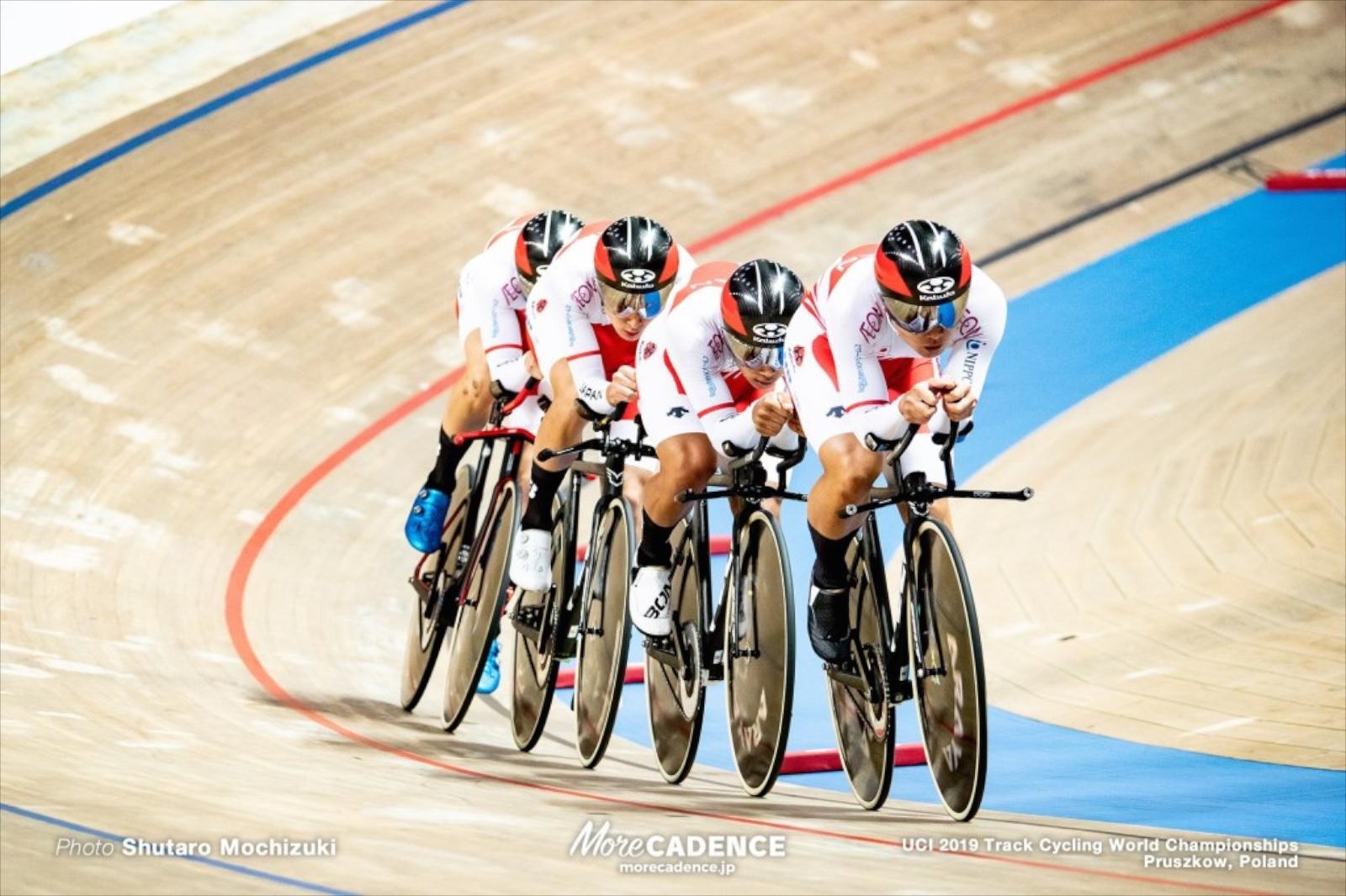 【2019トラック世界選手権】チームパシュート「課題は残るレースだった」予選12位