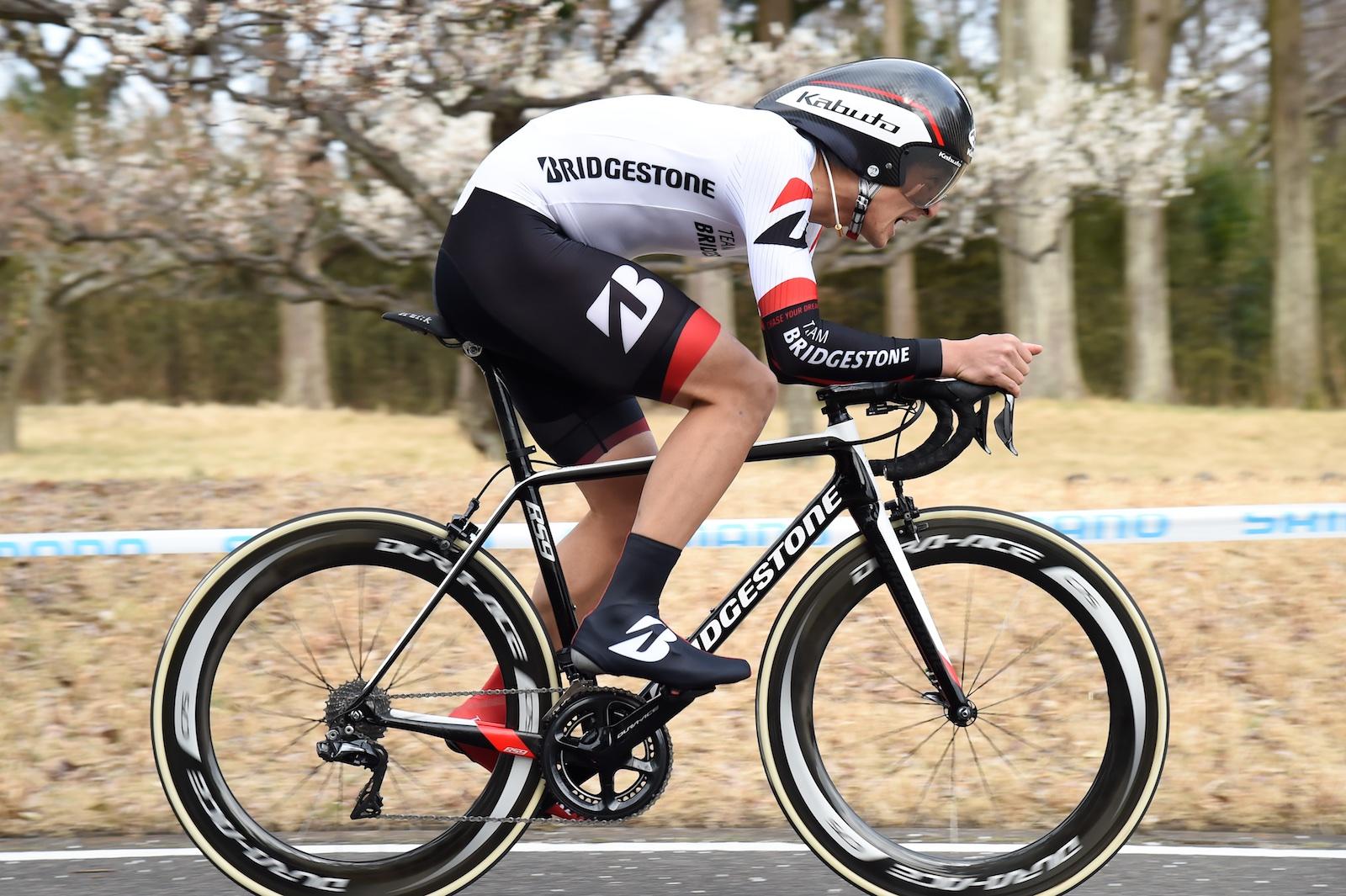 【ツール・ド・とちぎ】第1・個人TT3km 近谷が7位で日本人トップに