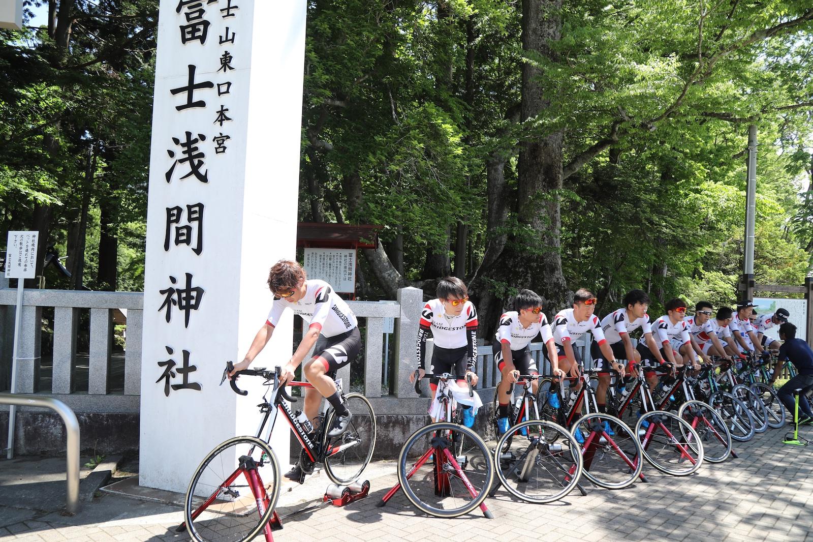 【TOJ2019】第6・富士山ステージ/ヒルクライムステージで石橋12位、総合順位を上げる