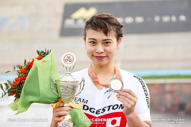 【ロシア・トゥーラGP2019】女子ケイリン/太田が新たな走りとともに3位に