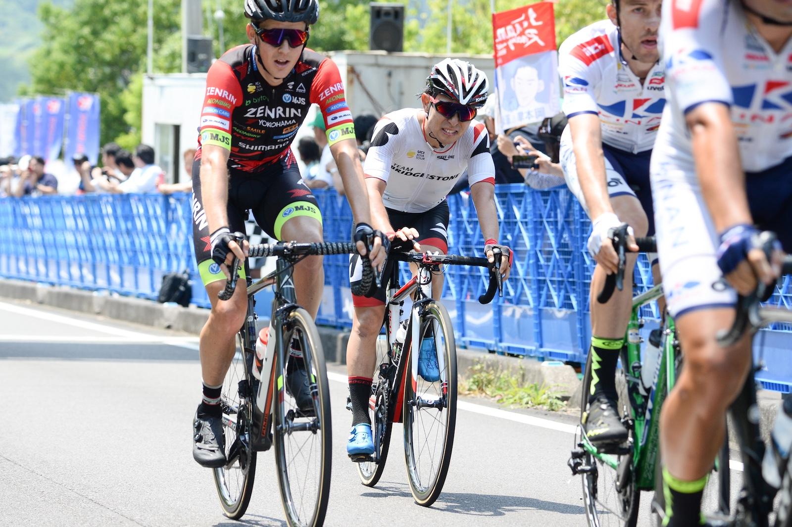 【ツール・ド・熊野2019】第2ステージ・平塚が後方から追い上げ15位に