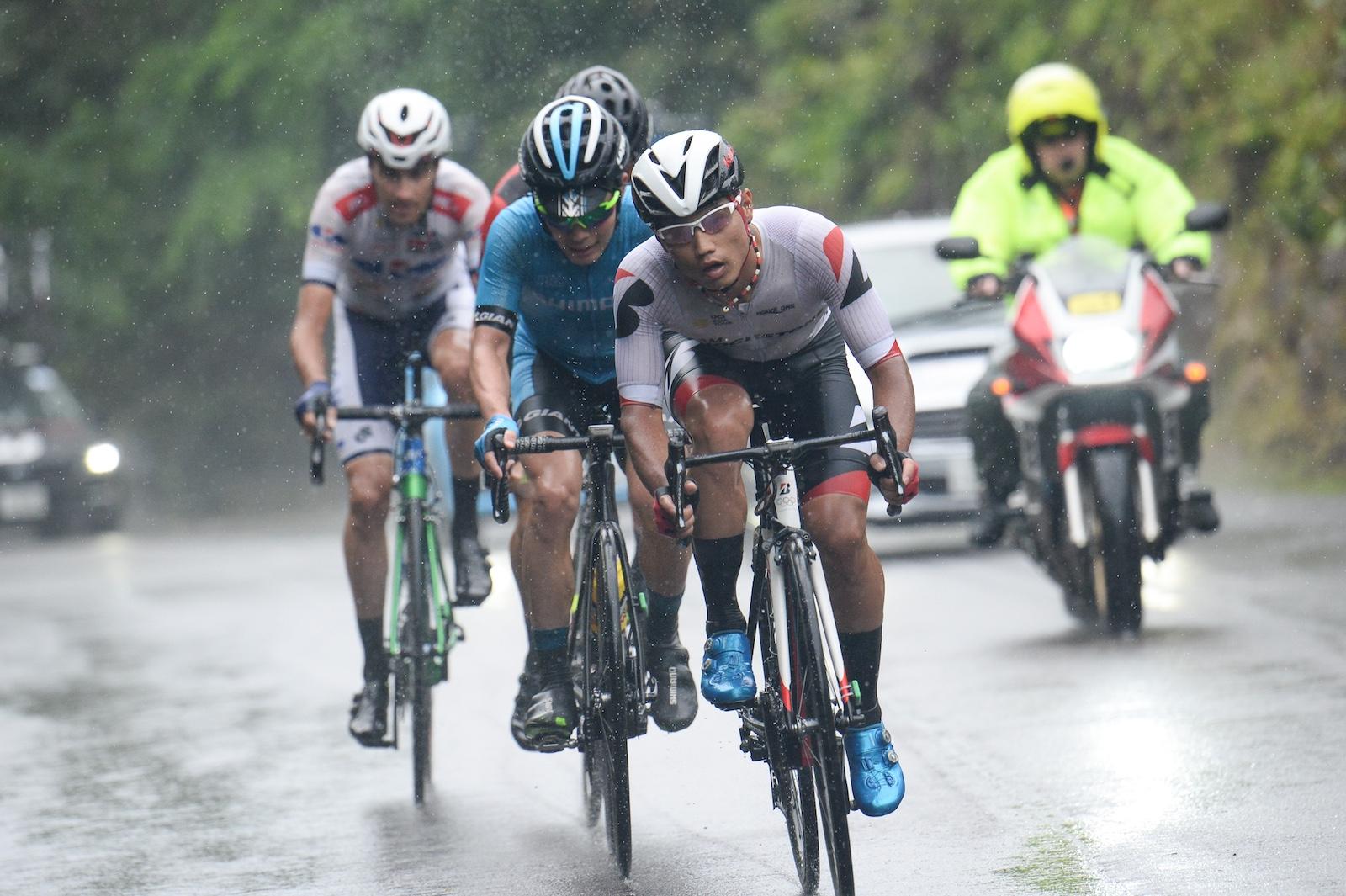 【ツール・ド・熊野2019】第3最終ステージ/中盤の勝ち逃げに乗った孫崎がスプリント2位に