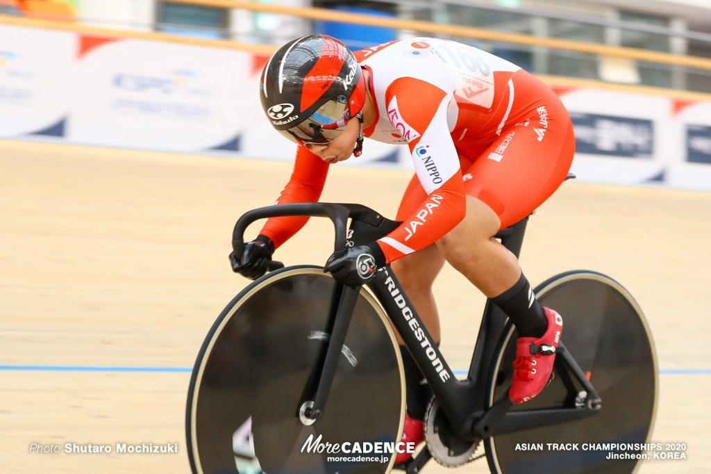 【トラックアジア選手権2020】女子スプリントで太田4位、出場枠に向けポイント獲得