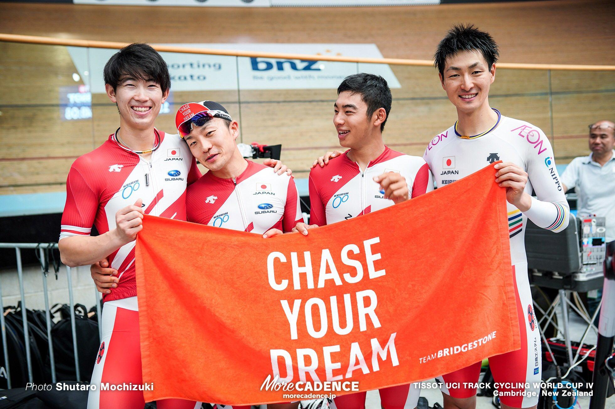 チームパシュート日本記録を更新、結果7位【'19-'20 UCIトラックW杯第4戦ニュージーランド】