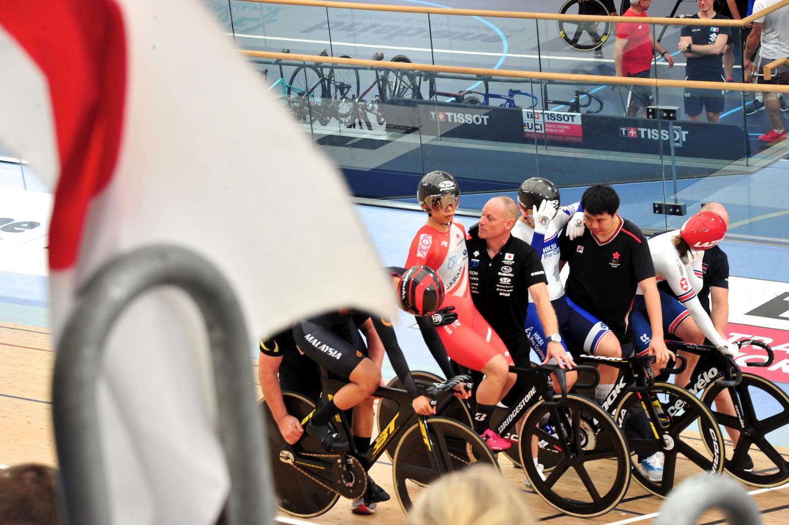 女子ケイリン/太田14位、悔しい結果と高評価のはざまで【UCIトラックW杯第5戦 オーストラリア】