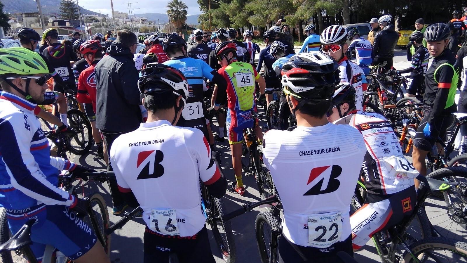【MTB ギリシャS1】Salamina EPIC#2 4日間ステージレース第2弾、平野38位、沢田39位