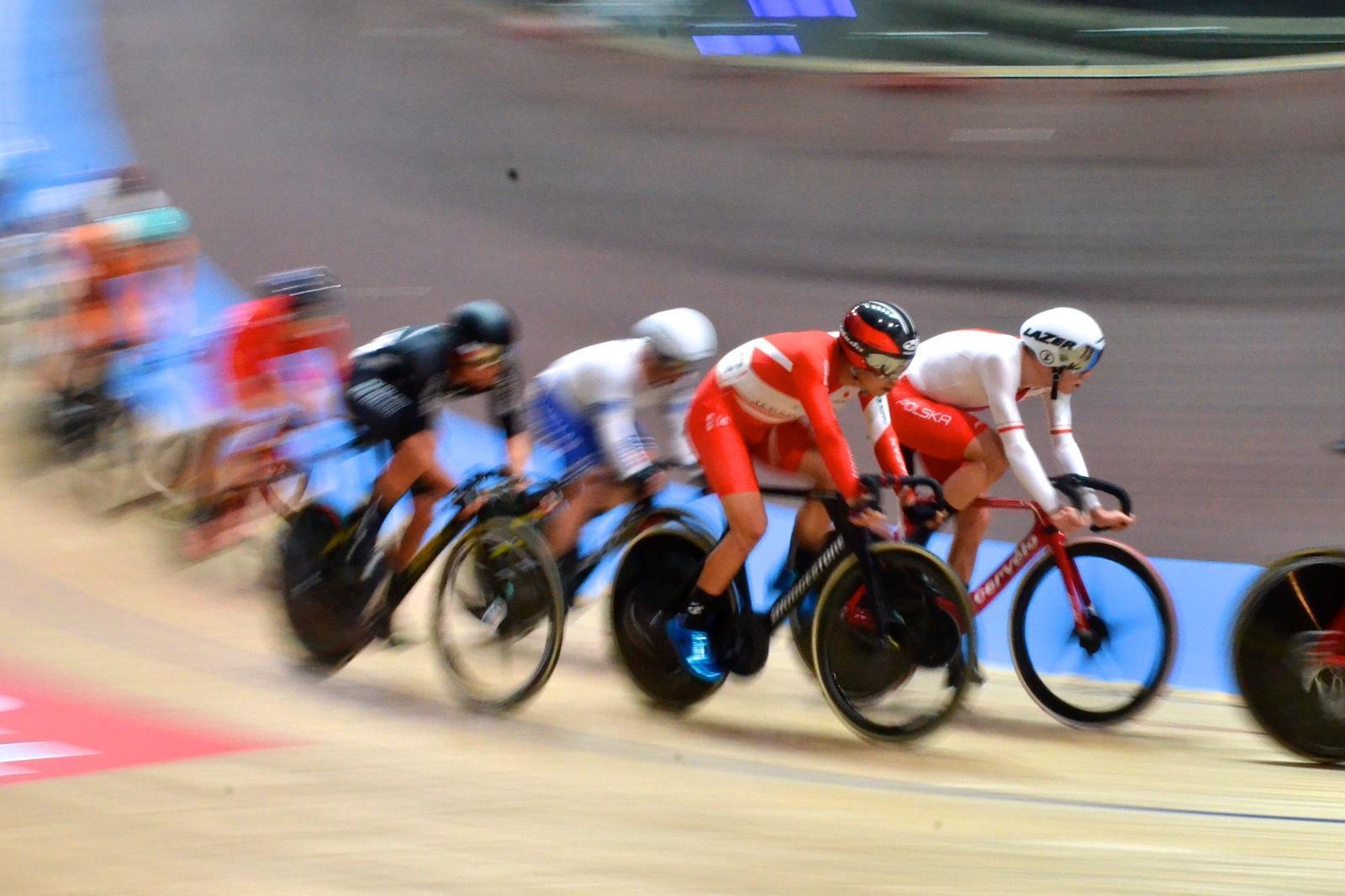 男子オムニアム/橋本11位、「スピードがワールドカップより2km/h速い」【2020UCIトラック世界選手権】