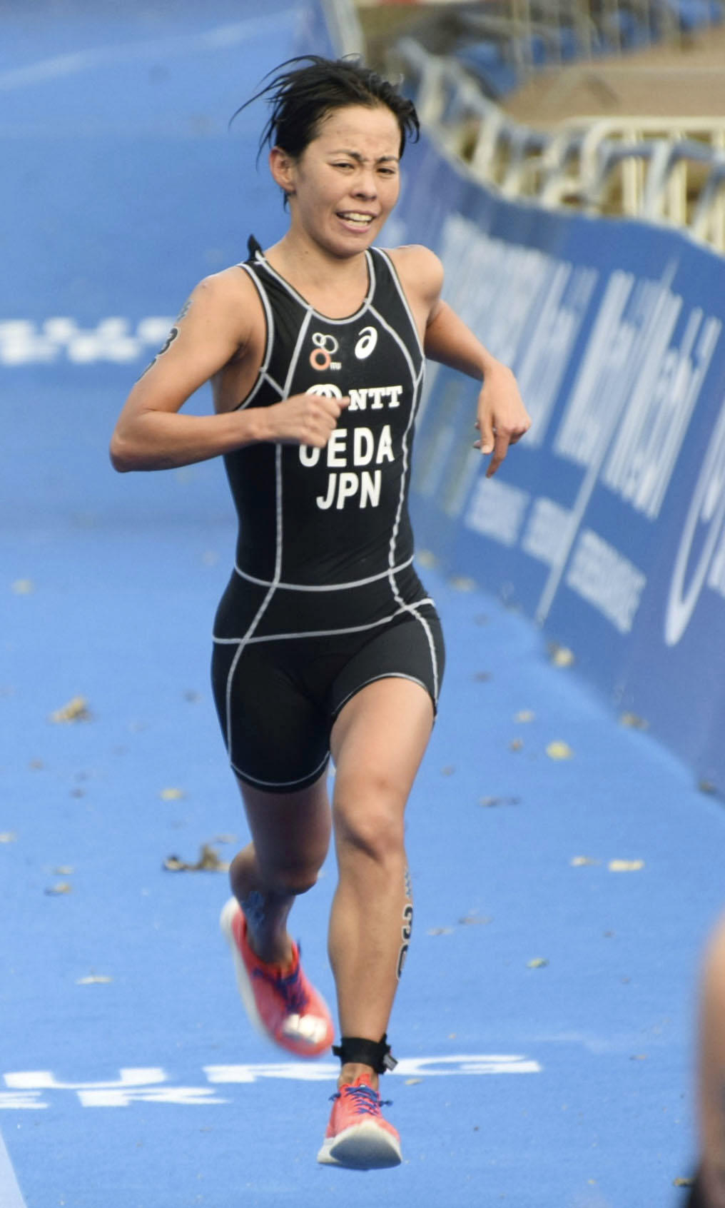 トライアスロン2020世界選で上田選手27位に「10ヶ月ぶりのレースが嬉しい」【2020世界トライアスロン選手権】