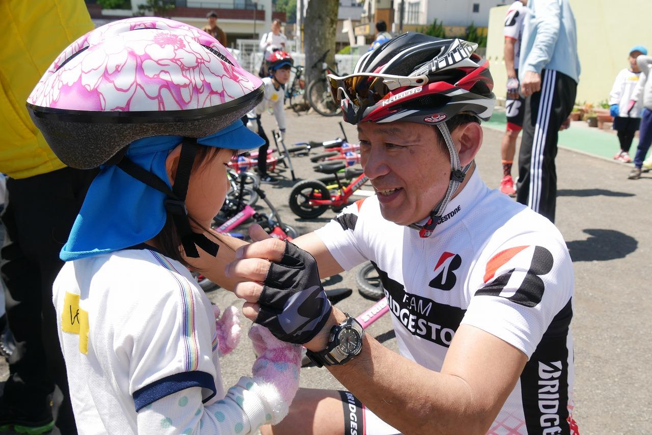 オリンピアンと一緒に自転車の楽しさを学ぶ「ランニングバイク出前教室」開催!