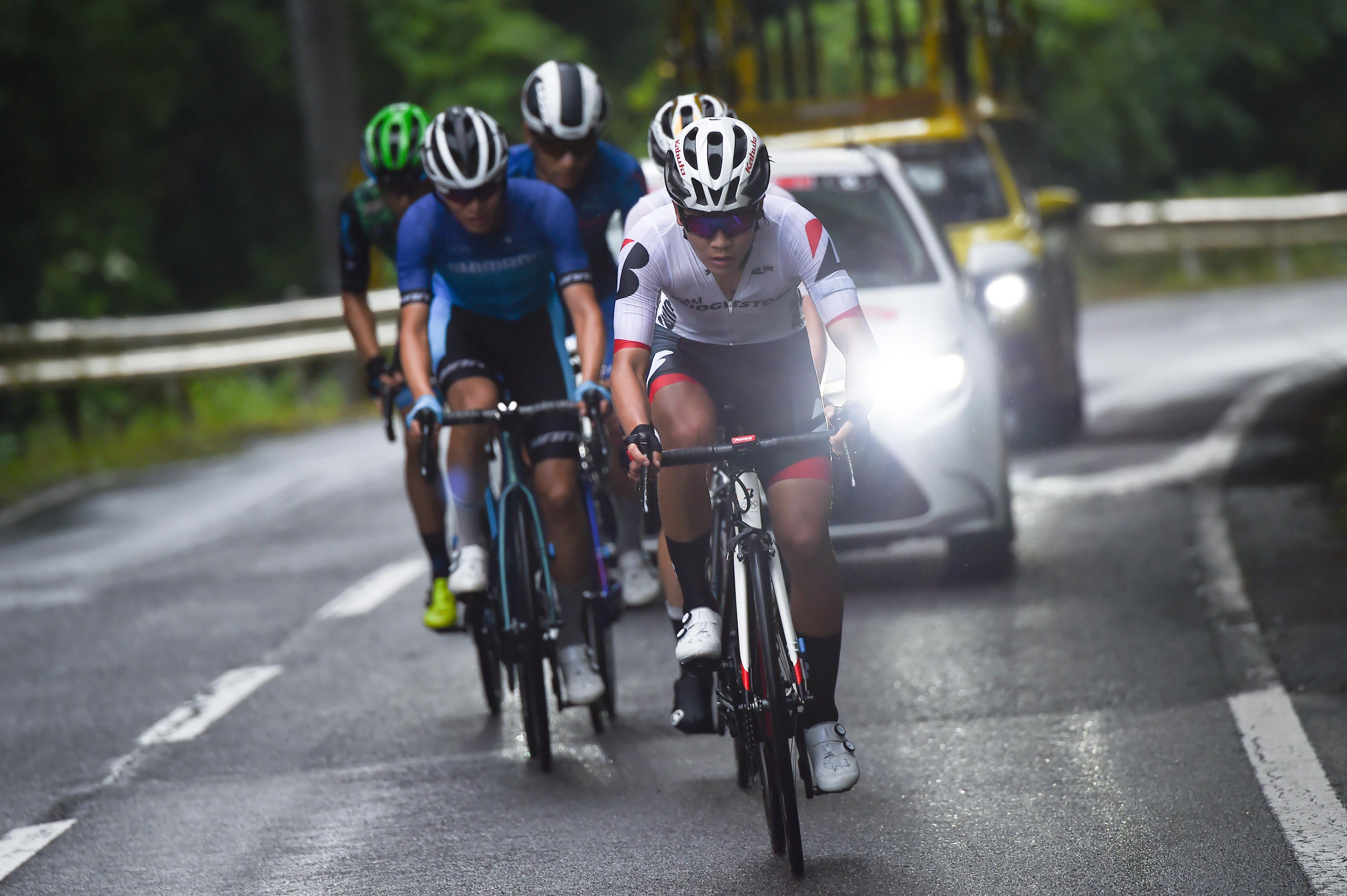 【今村が魅せた!新型ロードバイクRP9を連れてゴール】石川第1回JBCF石川クリテリウム&第19回JBCF石川サイクルロードレース詳報