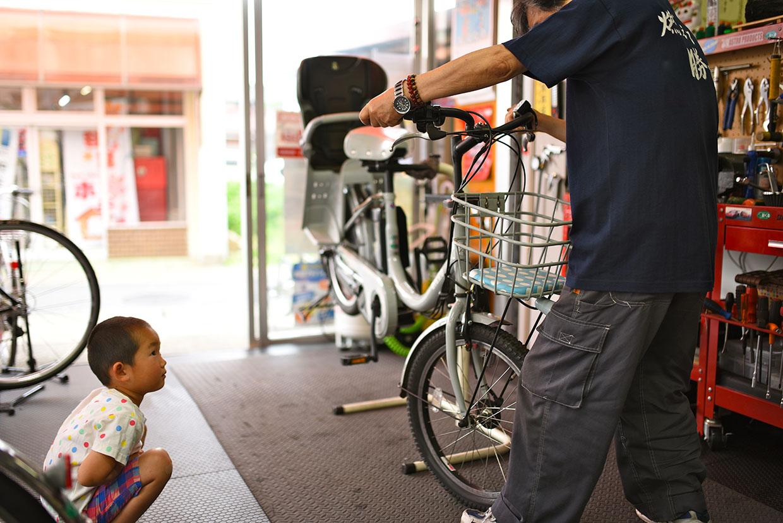 今日は自転車の点検のお話。