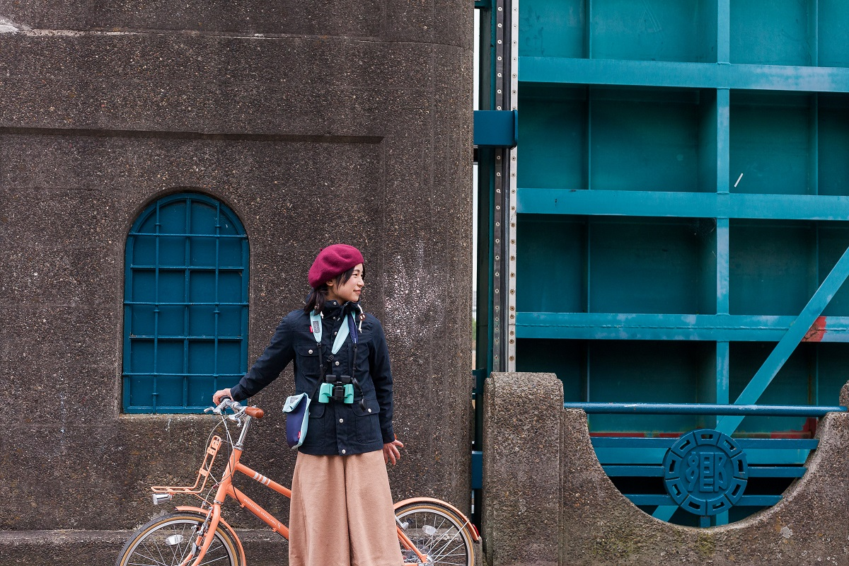 【GREENLABEL BIKETRIP】双眼鏡×自転車さんぽ。 in 東京・多摩川河川敷 Vol.2