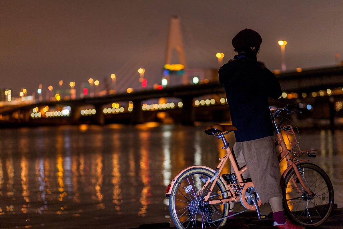 【GREENLABEL BIKETRIP】 東京・多摩川河川敷を行く、双眼鏡×自転車さんぽ。Vol.3