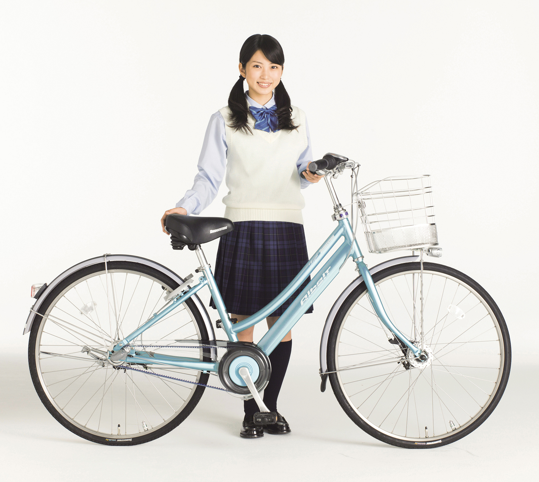 自転車の ブリジストン 自転車 アルベルト : 適性をアップした通学用自転車 ...