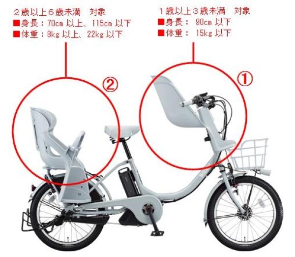 自転車の 自転車 親子乗り : 新たに専用フロントチャイルド ...