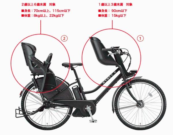 自転車 乗せ 電動 子供