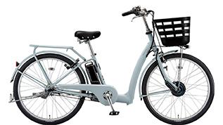 E.XBKブルーグレーの自転車の写真