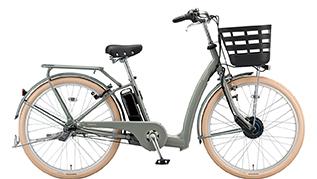 M.Xソフトカーキの自転車の写真