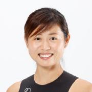 秦由加子選手の写真